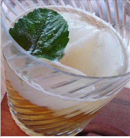 Mint Julep - the Real Thing. Photo by Bev