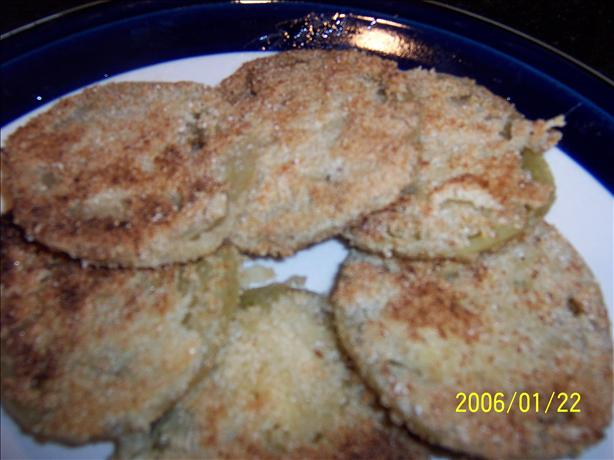 Really Easy and Good Fried Green Tomatoes. Photo by MelinOhio