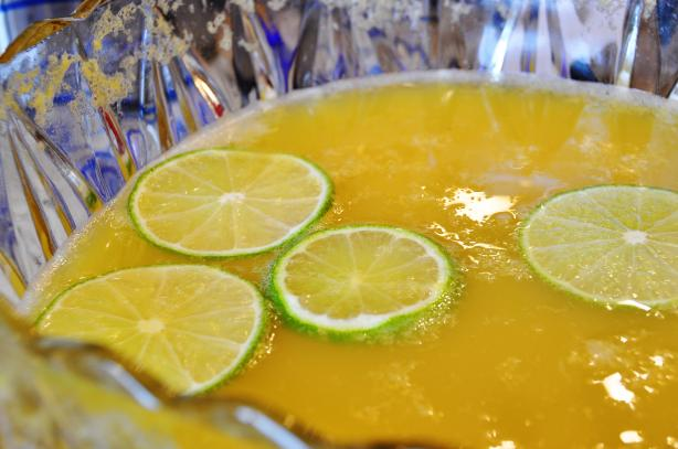 Champagne Punch. Photo by New Mom Kate