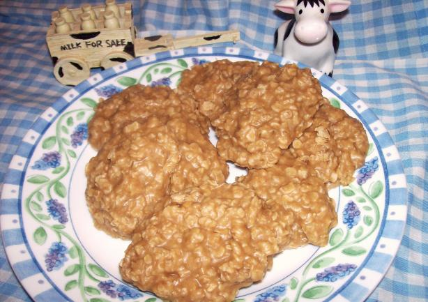 Peanut Butter No Bake Cookies. Photo by Aunt Paula