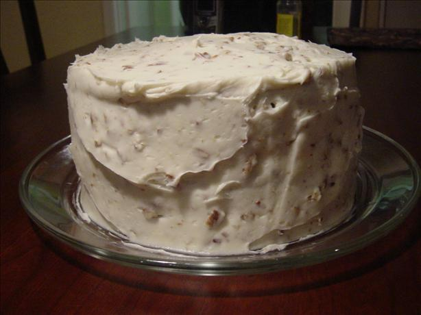 Banana Nut Cake With Cream Cheese Frosting (Paula Deen). Photo by Sharlene~W