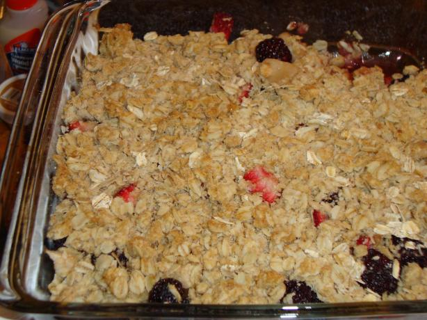 Fruit Crisp Topping. Photo by *Z*