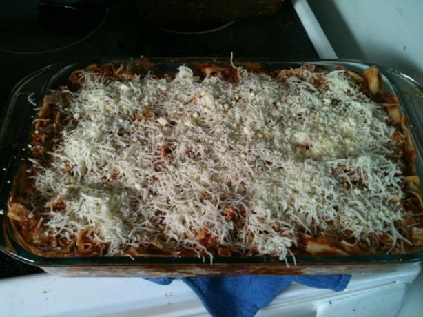 Lasagna Casserole. Photo by ChangedHeart