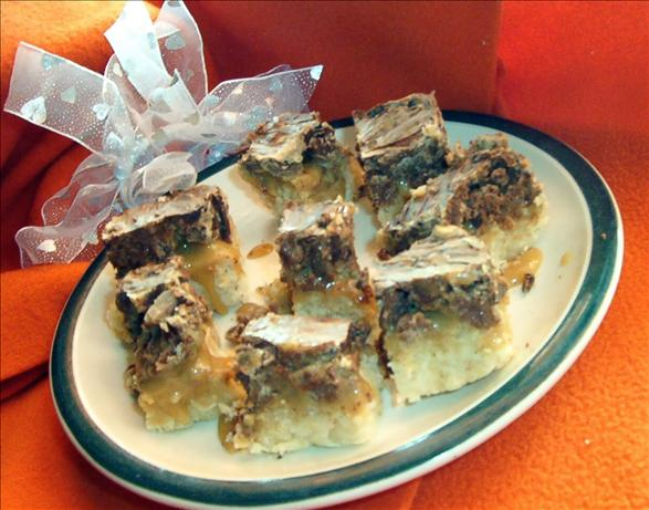 Chocolate Caramel Cookie Candy Bars. Photo by ~Leslie~