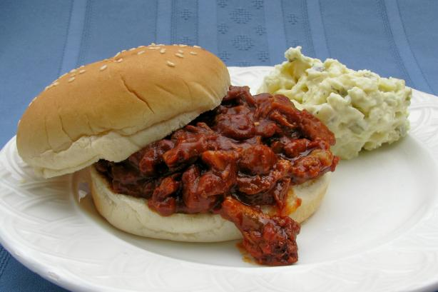 Pulled Pork (Crock Pot). Photo by lazyme