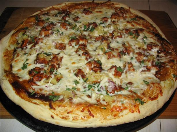 California BBQ Chicken Pizza. Photo by Charmie777