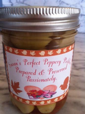 Pickled Garlic with Hot Pepper. Photo by ms.susan