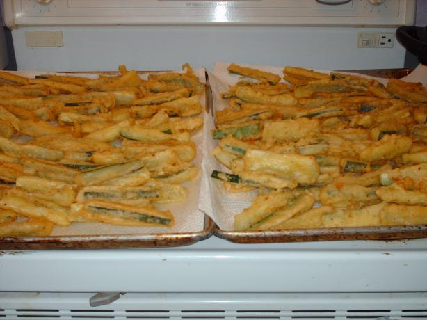 Fried Zucchini Batter. Photo by tasb