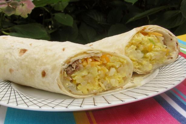 Breakfast Burritos. Photo by lazyme
