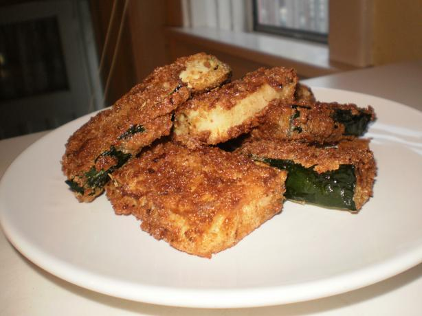 Kittencal's Fried Parmesan Zucchini Sticks. Photo by Wild Child Ruthie