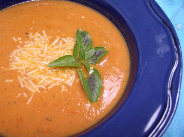 Roasted Tomato Soup. Photo by Bayhill