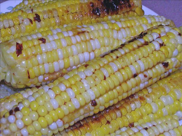 Caramel Corn on the Cob Seasoned With Chipotle Peppers !. Photo by Rita~