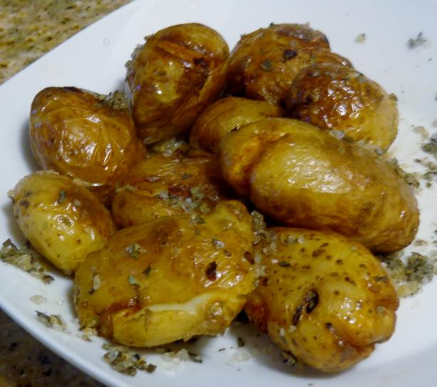 Smashed Fingerling Potatoes. Photo by Bonnie G #2
