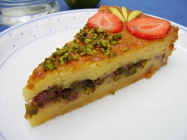 Filled Yogurt Cake With Lemon Ouzo Syrup. Photo by Thorsten