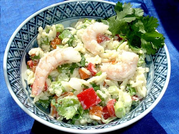 Orzo Shrimp Salad. Photo by Bergy