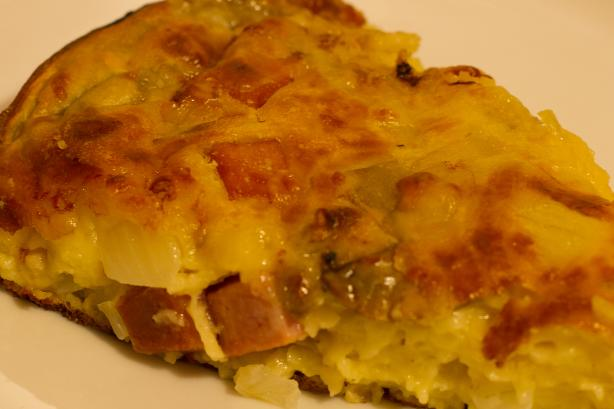 Crustless Quiche. Photo by Peter J