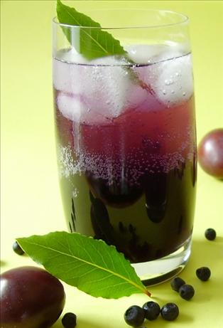Plum-Blueberry Spritzers. Photo by Thorsten