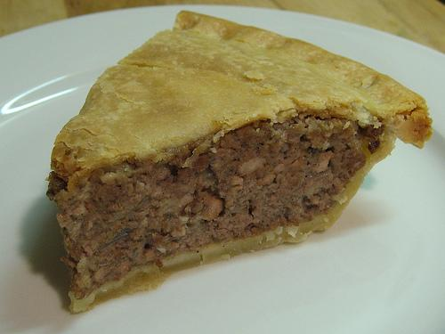 Tourtiere (French Canadian Meat Pie). Photo by Paintpuddles