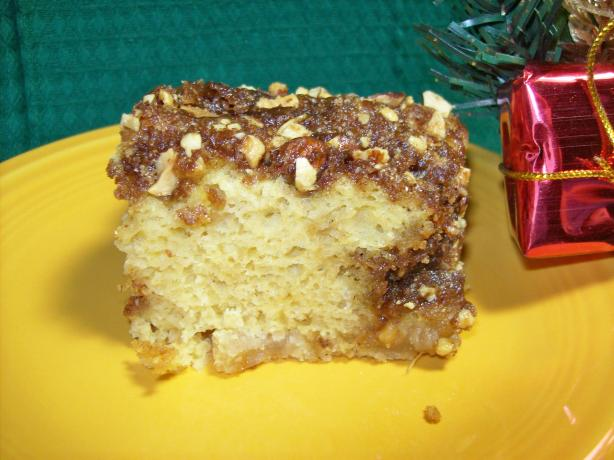 Vicki 's Apple Coffee Cake. Photo by Chef shapeweaver ©