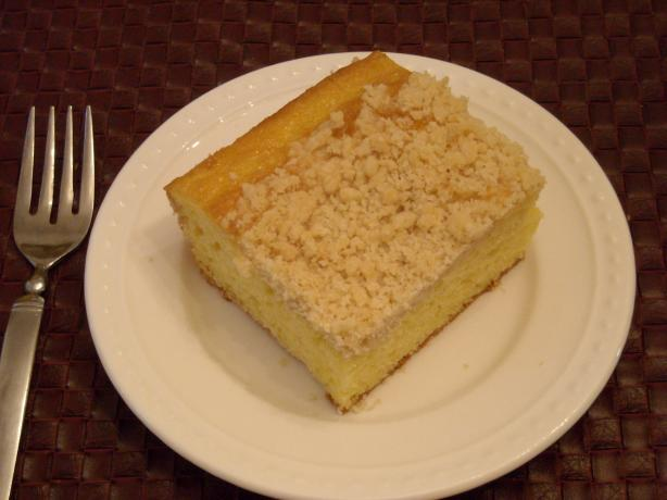 Lemon Crumb Cake. Photo by mums the word