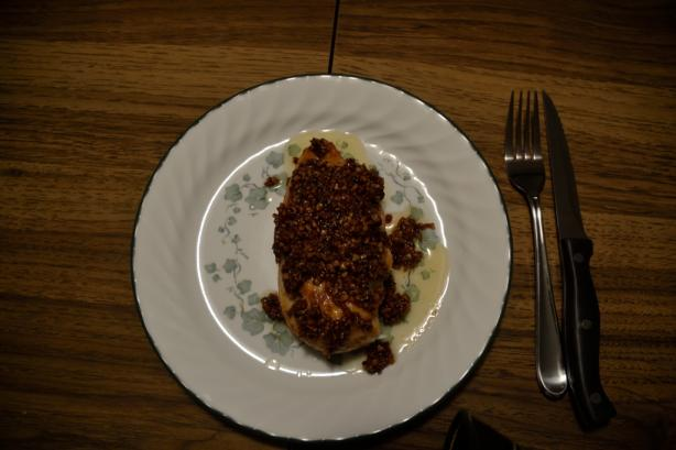 Honey Pecan Chicken Cutlets. Photo by FoodyField