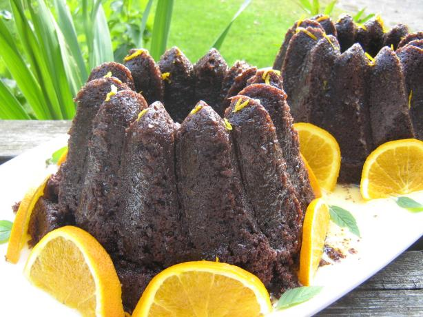 Zucchini Chocolate Orange Cake. Photo by ~Leslie~