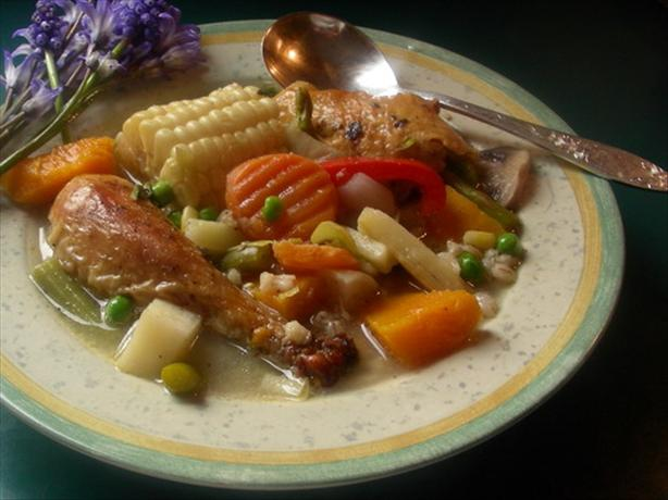 Argentine Chicken Stew (Cazuela Gaucho). Photo by Andi of Longmeadow Farm