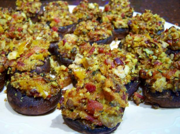 Stuffed Mushroom Appetizers. Photo by Rita~