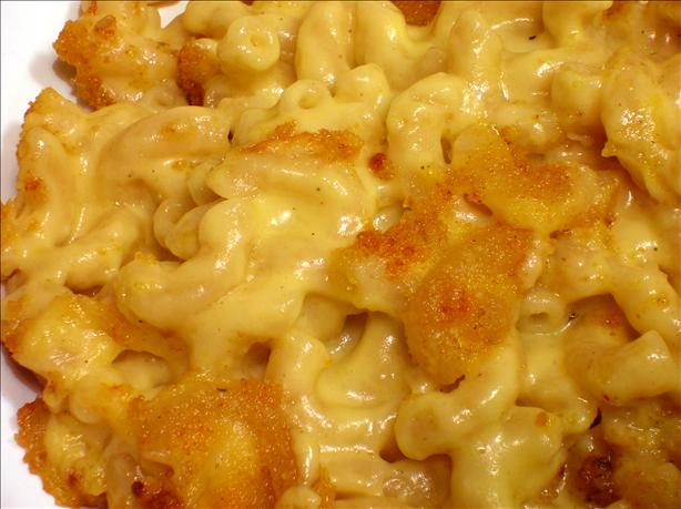 Fannie Farmer&#39;s Classic Baked Macaroni and Cheese. Photo by - Carla -