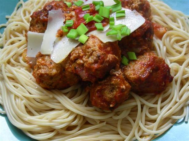 Spaghetti and Meatballs Italian. Photo by kiwidutch