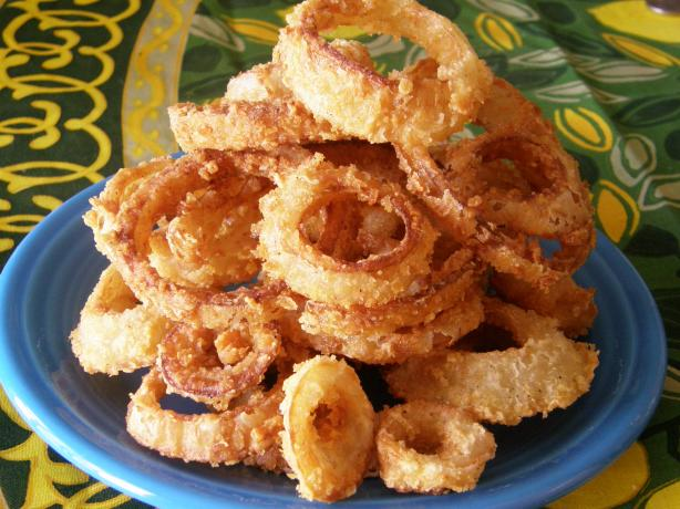 Kittencal's Best Crispy Onion Rings. Photo by mydesigirl