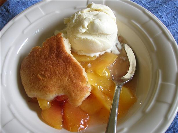 Peach Cobbler. Photo by Pam-I-Am