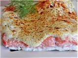 Low Fat Creamy Baked Salmon