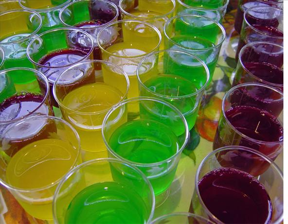Jelly (Jello) Shooters. Photo by JustJanS