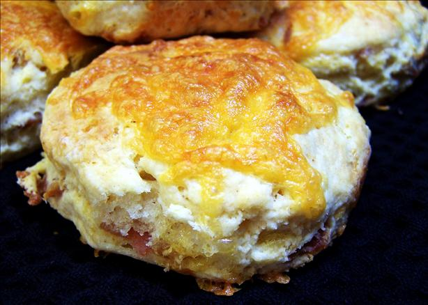 Cheddar and Bacon Buttermilk Scones. Photo by PaulaG
