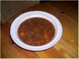 Winter Lamb Soup - Crock Pot