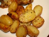 Greek-Style Oven-Roasted Lemon-Butter Parmesan Potatoes