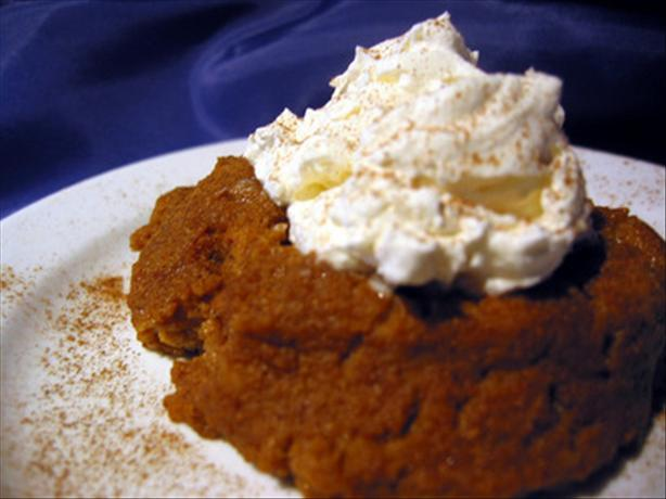 Pumpkin Pie Pudding. Photo by Chef Dee