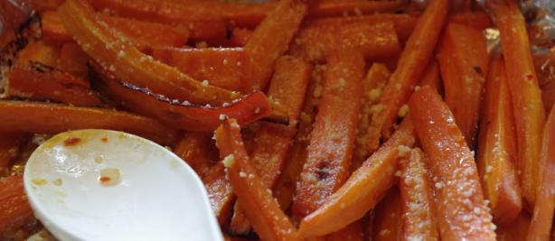 Roasted Carrots. Photo by morgainegeiser