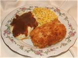 Mustard Fried Pork Chops (Breaded)