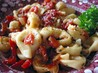Mikey&#39;s Cheese Tortellini With Roasted Red Pepper Sauce. Recipe by Cookin-jo