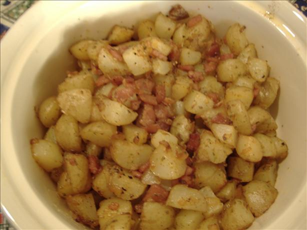 Hot German Potato Salad. Photo by Tasty Tidbits