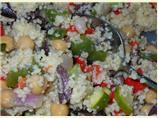 Mediterranean Couscous and Vegetables