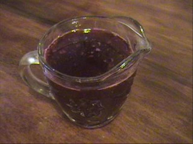 Boozy Blackberry Sauce. Photo by Mama&#39;s Kitchen (Hope)