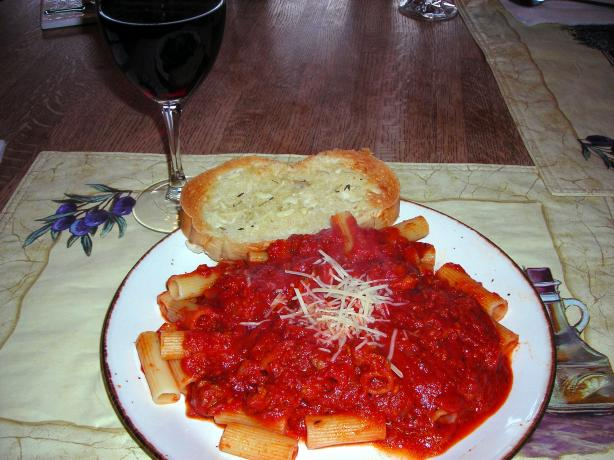 Old World Italian Spaghetti Sauce. Photo by slickchick