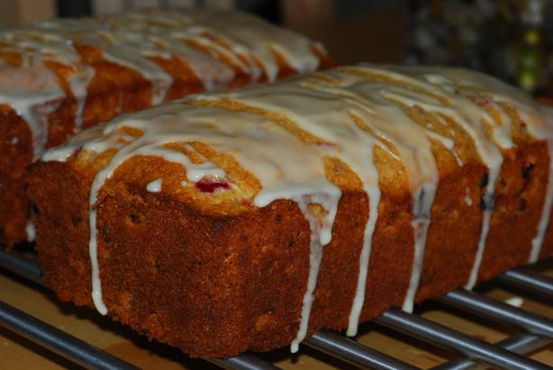 Cranberry Bread. Photo by Katzen