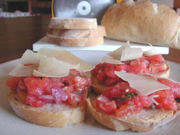 Bruschetta. Photo by Chef floWer