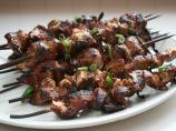 Skewered Korean Chicken and Green Onions