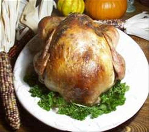 Honey Brined Herb Roasted Turkey. Photo by Bri22