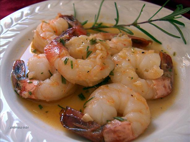 Rosemary Shrimp in Sherry. Photo by Derf